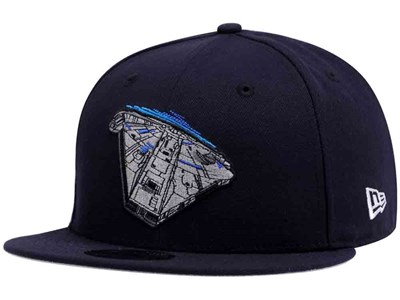Millenium Falcon Character Logo Solo: A Star Wars Story  Navy 9FIFTY Cap