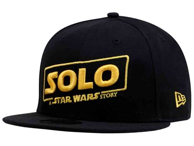 a7e3463acaf Solo  A Star Wars Story Logo Black 9FIFTY Cap ...