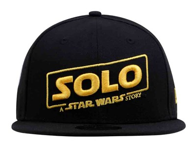 Solo: A Star Wars Story Logo Black 9FIFTY Cap
