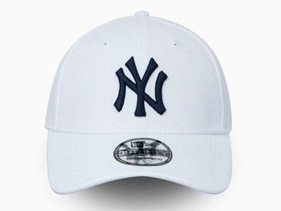New York Yankees MLB White on White 39Thirty Cap