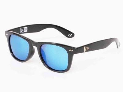 New Era  Gray Black Sunglasses Accessory