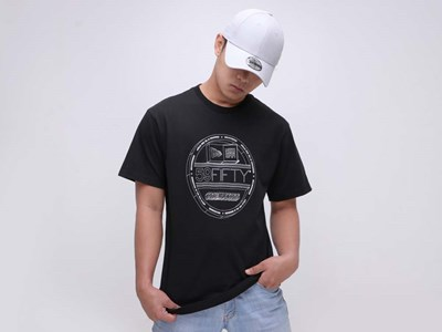 New Era 59FIFTY Sticker Short Sleeves Black T-Shirt