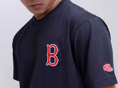 Boston Red Sox MLB Short Sleeves Navy T-Shirt
