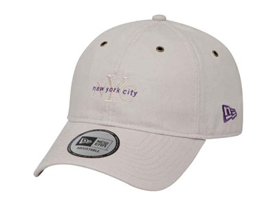 New Era New York City NYC Washed Duck Canvas Stone 9FORTY Cap