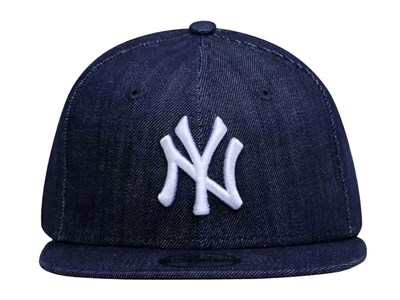 New York Yankees MLB Blue Denim 9FIFTY Youth Kids Cap