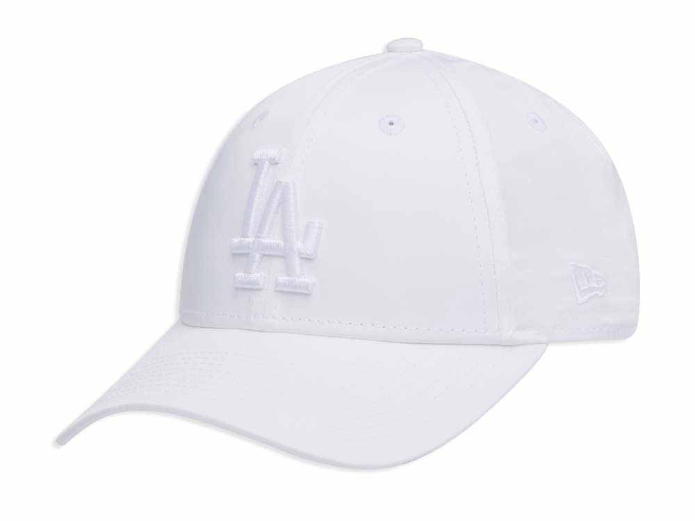 763e4baa206 Los Angeles Dodgers MLB Satin White 9FORTY Womens Cap