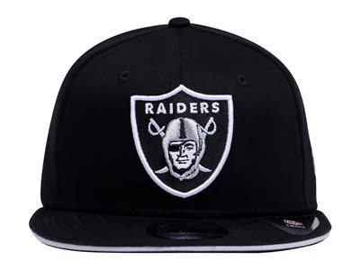 Oakland Raiders NFL Classic Team Snap Black 9FIFTY Cap