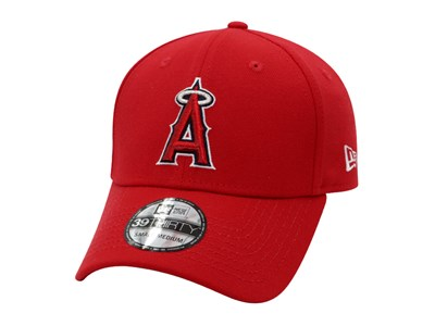 Anaheim Angels MLB Red 39THIRTY Cap