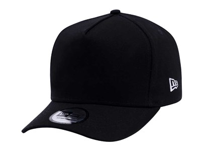 f09fdea756e7 New Era Plains Black 9FORTY D-Frame Cap (ESSENTIAL) ...