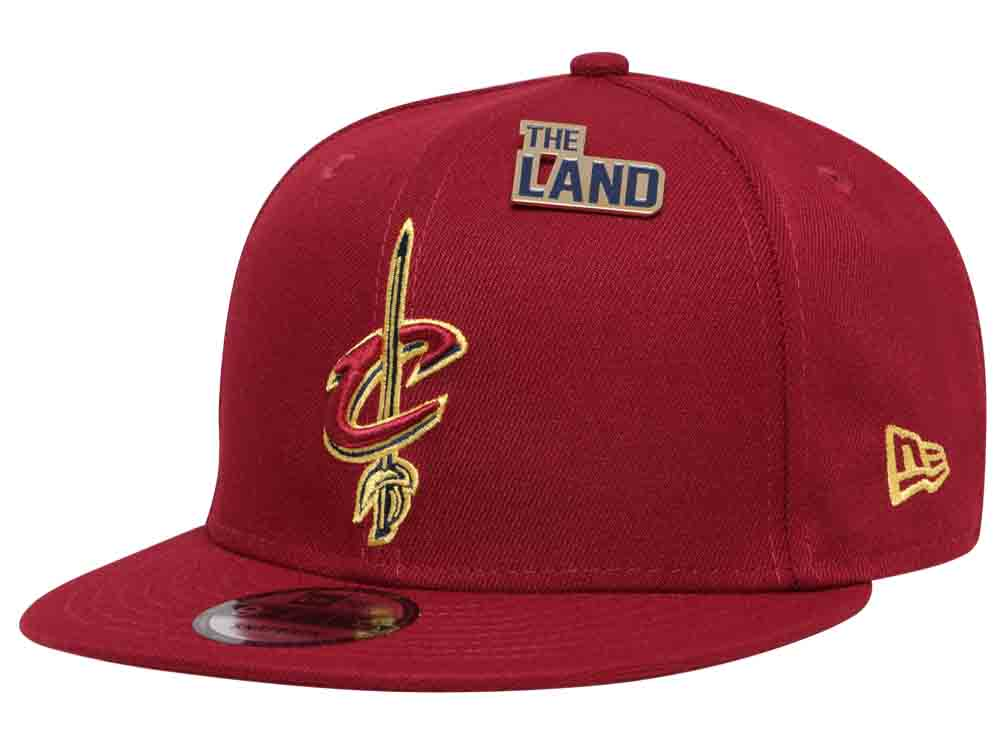 62f827a3c5f Cleveland Cavaliers NBA 2018 Draft Series Maroon 9FIFTY Cap