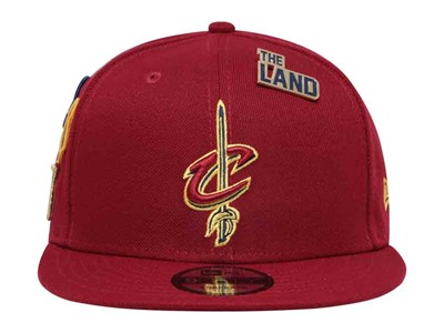 ... Cleveland Cavaliers NBA 2018 Draft Series Maroon 9FIFTY Cap af7a5994326