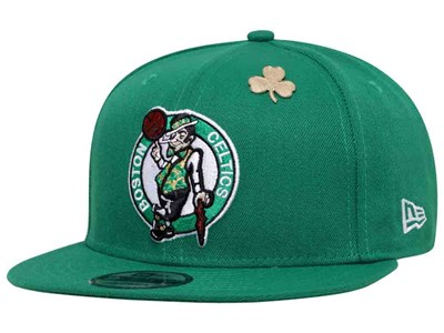 Boston Celtics NBA 2018 Draft Series Green 9FIFTY Cap