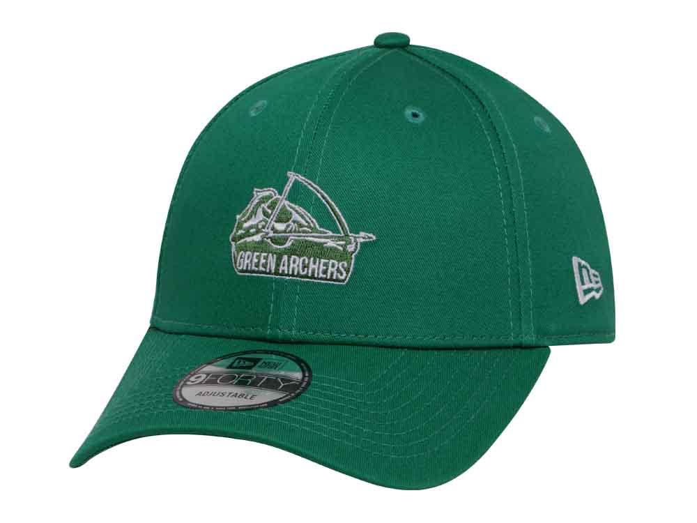 De La Salle Green Archers UAAP Green 9FORTY Cap  3890e732318