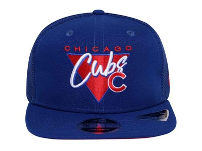 Chicago Cubs MLB Fresh Front Trucker Blue 9FIFTY Cap