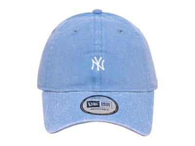 New York Yankees MLB Italian Wash Duck Canvas Light Blue 9THIRTY Cap