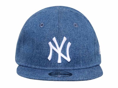 New York Yankees MLB Japan Washed Denim My First 9FIFTY Infant Kids Cap