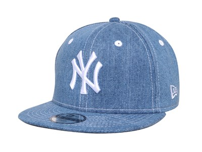 New York Yankees MLB Japan Washed Denim 9FIFTY Youth Kids Cap