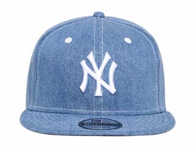 7cace599150 ... New York Yankees MLB Japan Washed Denim 9FIFTY Cap