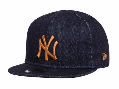 New York Yankees MLB Japan Indigo Denim My First 9FIFTY Infant Kids Cap