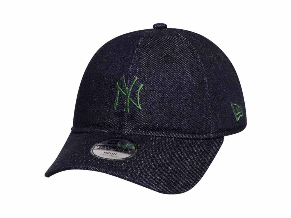 premium selection 79210 d7434 ... wholesale new york yankees mlb japan indigo denim 9twenty youth kids cap  521a0 86eb0