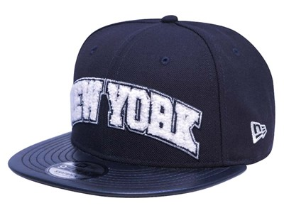 New York Yankees MLB Boucle Patch Navy 9FIFTY Cap