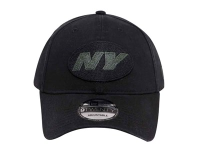 New York Jets NFL Stone Wash Black 9TWENTY Cap