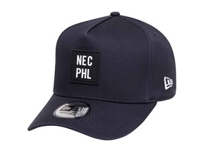 New Era NEC PHL Navy 9FORTY D-Frame Cap (ESSENTIAL)