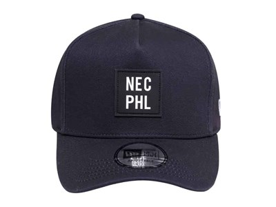537eeeac679 ... New Era NEC PHL Navy 9FORTY D-Frame Cap (ESSENTIAL)