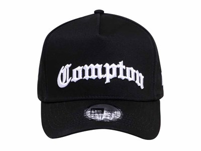New Era Compton Black 9FORTY D-Frame Cap (ESSENTIAL)