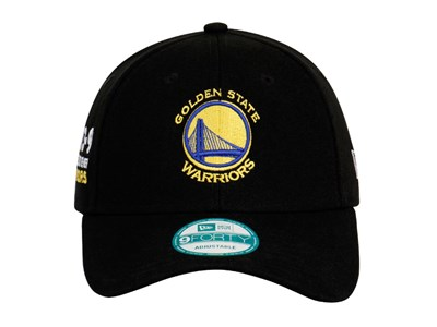 Golden State Warriors NBA 2016 73-9 Black 9FORTY Cap