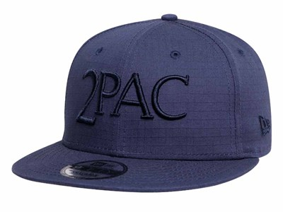 2Pac Tupac Music Navy 9FIFTY Cap