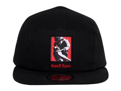 Guns N' Roses Music Use Your Illusion Album Black Camper Cap
