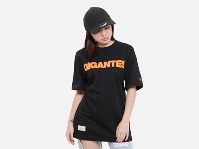 Gigantes San Francisco Giants MLB Super Big Fan Short Sleeve Pocket Black Shirt
