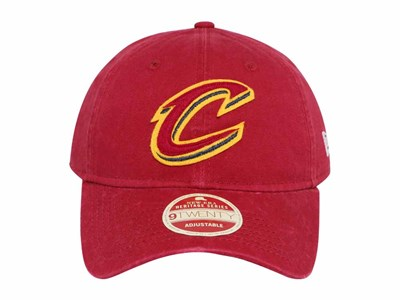 Cleveland Cavaliers NBA Rugged Patcher Maroon 9TWENTY Cap