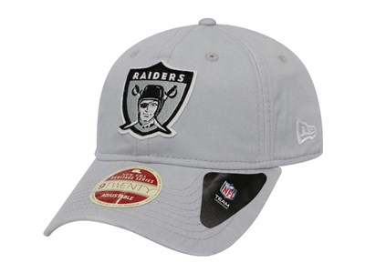 Oakland Raiders NFL Rugged Patcher Black 9TWENTY Cap