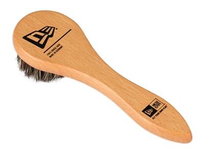 38b5571c28b ... New Era Wooden Brown Brush CAP CLEANING