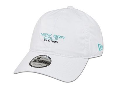 New Era Golf Est 1920 Waterproof Cloth Strap White 9TWENTY Cap ... 3eead107efc8