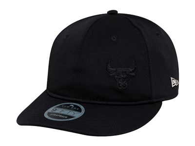 Chicago Bulls NBA Black Label Flawless Retro Black 9FIFTY Cap