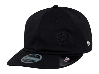 Oakland Raiders NFL Black Label Flawless Retro Black 9FIFTY Cap