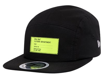 New Era Contemporary Work Wear Reflective Black Camper Cap