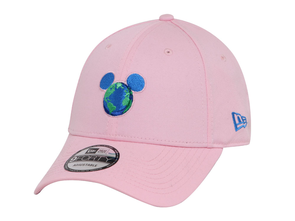 Mickey Mouse Disney Earth Pink 9FORTY Cap  d2234a47fde