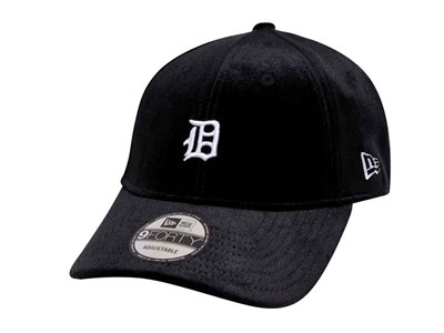 Detroit Tigers Cooperstown MLB Luxurious Velour Black 9FORTY Cap