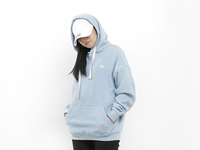 New Era Essential Fleece Airy Blue Hoodie