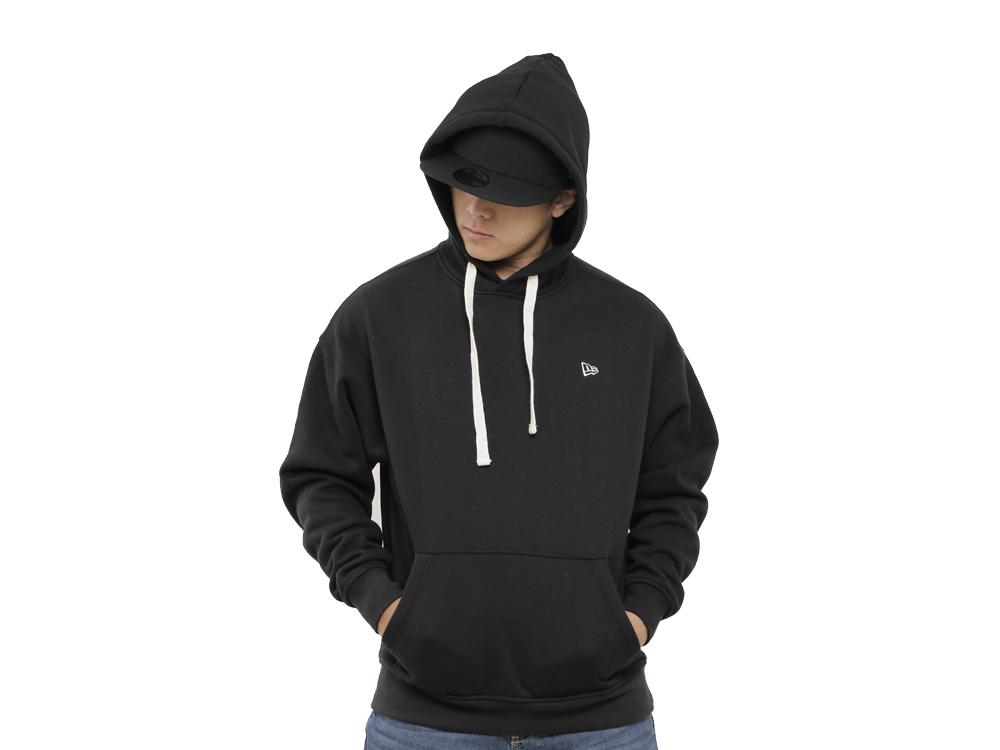 9c70f9359 New Era Essential Fleece Black Hoodie