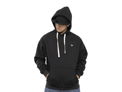 New Era Essential Fleece Black Hoodie