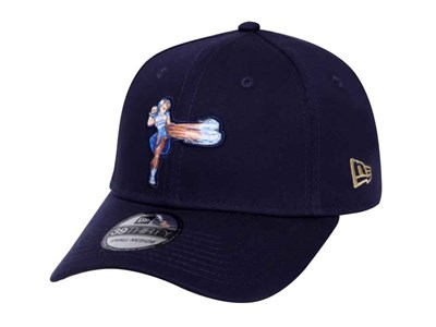 Chun Li Street Fighter Logo Black 39THIRTY Cap