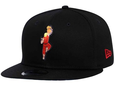 Ken Street Fighter Logo Black 9FIFTY Cap