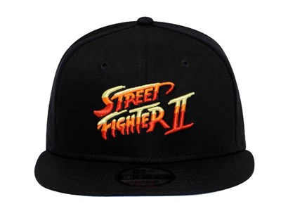 Street Fighter Logo Black 9FIFTY Cap