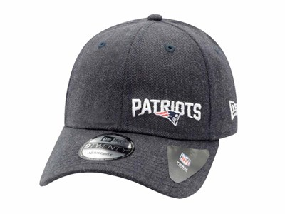 New England Patriots NFL Stated Heather Dark Blue 9TWENTY Cap