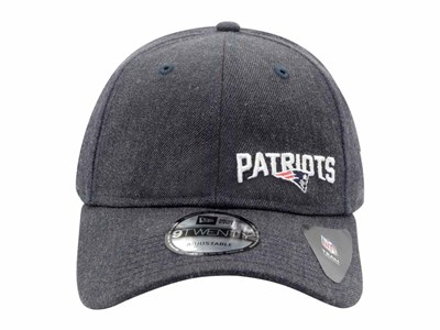 a7e0d44576d ... New England Patriots NFL Stated Heather Dark Blue 9TWENTY Cap